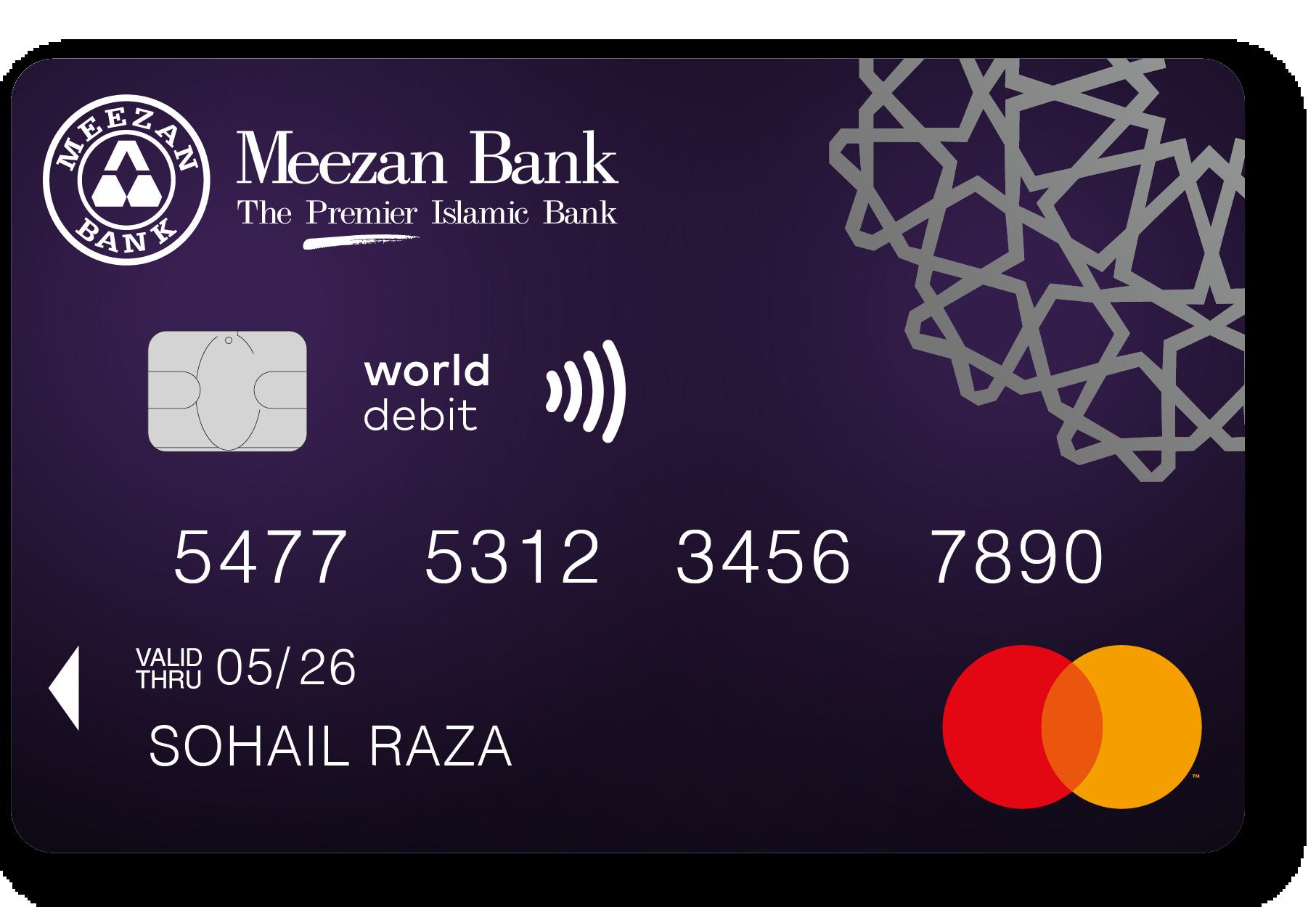 Visa World Debit Card